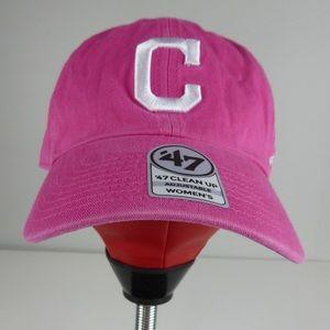 Cleveland Indians 47 Brand Twill Baseball Cap NWT